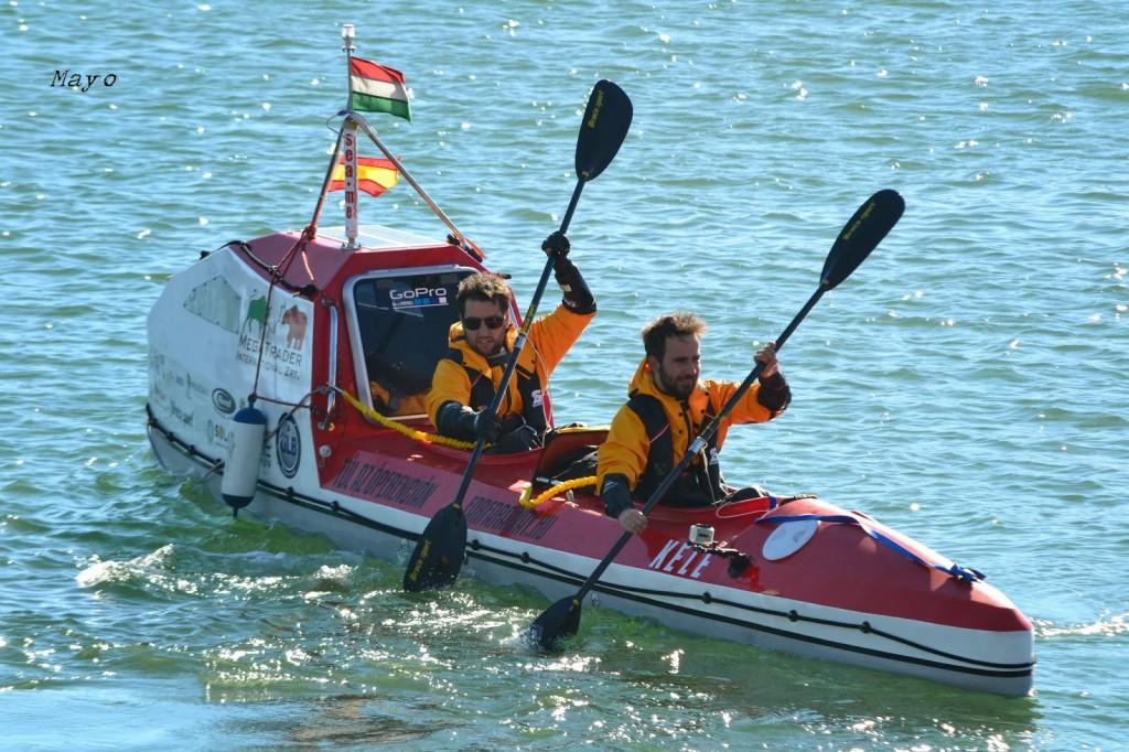Travesía Atlántica en kayak